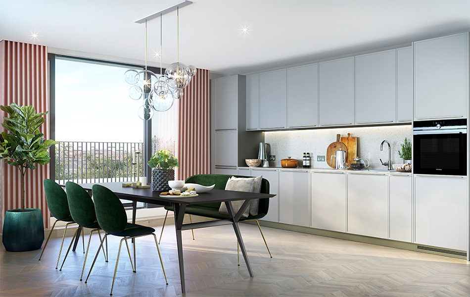 Apartment B12 - Block B | Hornsey Town Hall | Crouch End