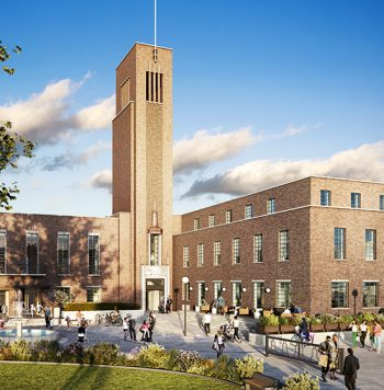 A Secure Future For Hornsey Town Hall - Hornsey Town Hall, Crouch End