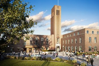 Hornsey Town Hall  Construction Steering Group - Hornsey Town Hall, Crouch End