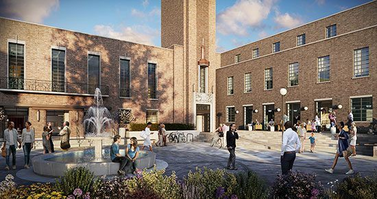 FEC to restore historic town hall square at the heart of the crouch end community